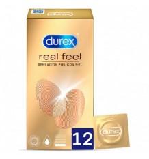 Durex Preservativos Real Feel 12 peças