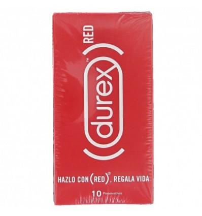 Durex Préservatif Rouge 10 Préservatifs