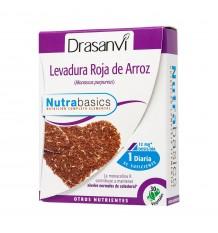 Levure de Riz Rouge 30 Capsules Nutrabasic Drasanvi