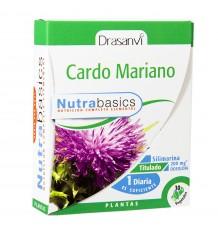 Milk Thistle 30 Capsules Nutrabasic Drasanvi