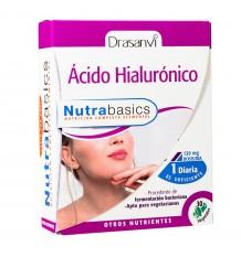 Hyaluronic Acid 30 Capsules Nutrabasic Drasanvi