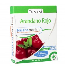 Red Blueberry 30 Capsules Nutrabasic Drasanvi