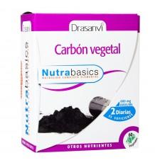 Pflanzlicher Kohlenstoff 60 Kapseln Nutrabasic Drasanvi