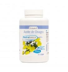 Huile d'Onagre 200 Perles 500 mg Nutrabasicos Drasanvi