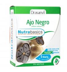 Alho Negro 24 Cápsulas Nutrabasico Drasanvi