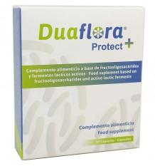 Duaflora Protect prebióticos probióticos 30 cápsulas