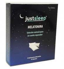 Justsleep Melatonina 30 capsulas