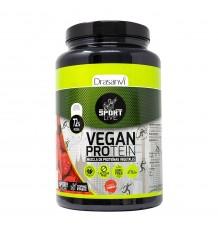 Proteína vegetal sabor framboesa 600g Esporte Ao Vivo Drasanvi