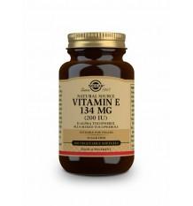 Solgar Vitamina E 134mg 200UI 60 Capsulas
