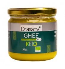 Manteiga ghee Bio 300g Keto Drasanvi