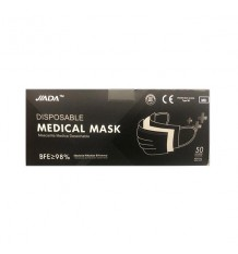 Chirurgische Masken Jiada Schwarz 50 Einheiten