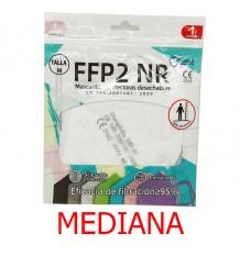 Masque FFP2 NR Promask Blanc 1 Unité Taille Moyen