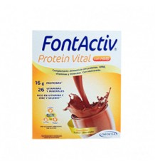 Fontactiv Protein Vital Schokolade 14 Beutel 30g