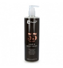 Iap Pharma Dermo Shampoo Shower Gel Number 55 500ml