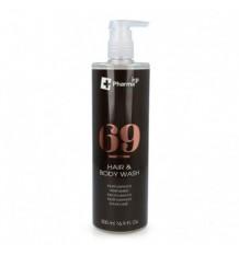 Iap Pharma Dermo Shampoo Shower Gel Number 69 500ml