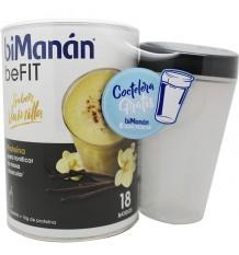 Bimanan Befit Milkshake baunilha 540 g 18 smoothies + Shaker presente