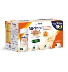 Meritene Drink Vanilla 10 + 2 Promotion