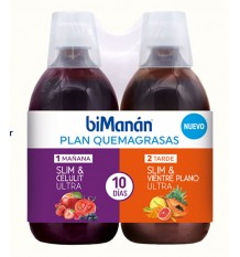 Plan de combustion des graisses Bimanan 500ml + 500ml