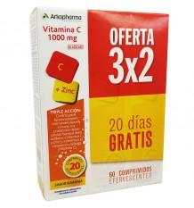 Arkovital Vitamine C 60 Comprimés effervescents