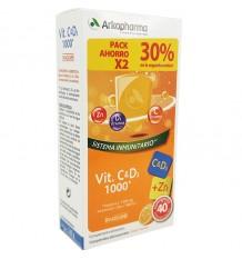 Arkovital Vitamine C + D3 40 Comprimés