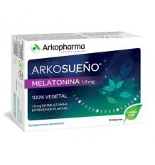 Arkosueño Vegetable Melatonin 1.9 mg 15 Capsules