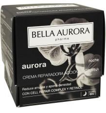 Crème Réparatrice Action Nuit Bella Aurora Aurora 50ml