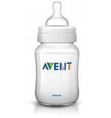 Avent Classic Baby Bottle 260 ml White