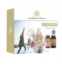Solgar Kit Immunity Ester C Plus 1000 30 tablets + Ultibio Immune 30 Capsules
