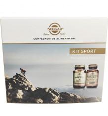 Solgar Kit Sport B Complex 50 50 Capsules + Magnesium Citrate 60 Tablets