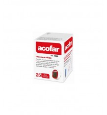Acofar Glucose Streifen 25 Stück