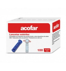 Acofar Sterile Lanzetten 100 Einheiten