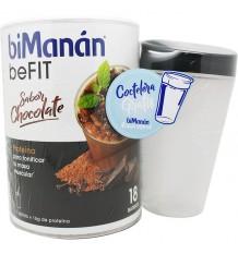 Bimanan Befit Batido chocolate 540 g 16 Batidos + Coctelera Regalo