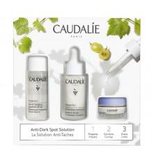 Caudalie Vinoperfect Glow Anti-Fleck Serum 50 ml + Konzentriert Glykol Essenz 30 ml + Nacht Creme 15 ml