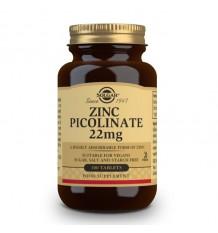 Solgar Picolinato zinco 22mg 100 comprimidos