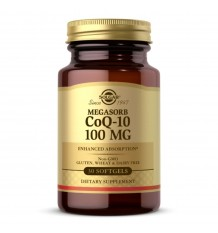 Solgar Coenzyme Q10 100mg 30 Perles