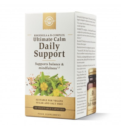 Solgar Daily Support Ultimate Calma Diaria 30 Capsulas