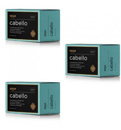 Goah Clinic Cabello 180 Capsulas Triplo Promocion