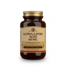 Acide Alpha-Lipoïque Solgar 60mg 30 Gélules