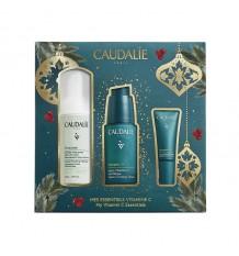 Caudalie Box Vinergetic Serum 30 ml + Reinigungsschaum 50 ml + Anti-Müdigkeit Augen 5 ml