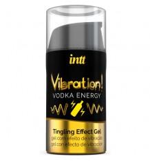 Intt Vibration Vodka Gel Excitante Parejas 15ml