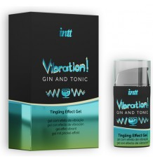 Intt Vibration Gin Tonic Gel Excitante Parejas 15ml