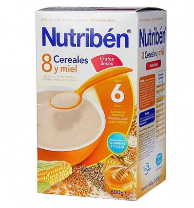nutriben 8 cereales miel frutos secos
