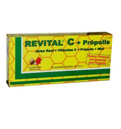 Revital C + Propolis 20 Ampollas