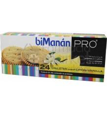 Bimanan Pro Galletas de Limón Vainilla 24 unidades