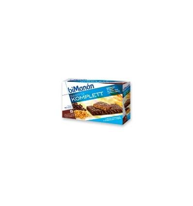 Bimanan Komplett Chocolate crujiente 8 unidades