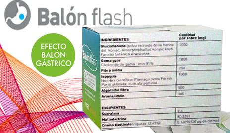 Ingredientes Balon Flash