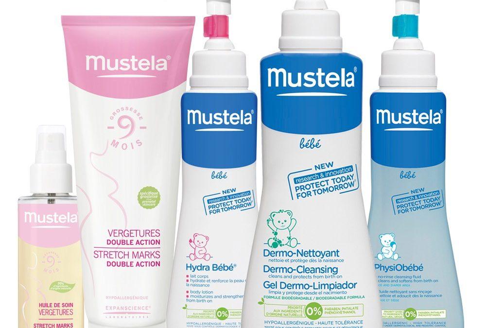 Mustela: la solución para la piel de nuestro bebe