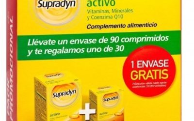 Beneficios de tomar vitaminas de Supradyn Activo