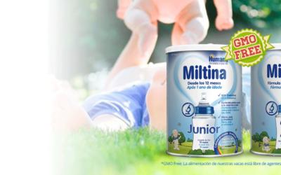 Miltina, La leche de alemania