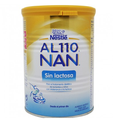 Al 110 Nan Leche sin Lactosa 400 gramos